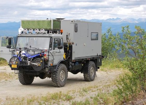 DAF YA-4440 Expedition Truck