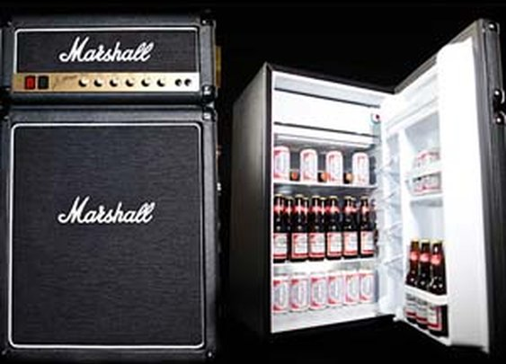 Marshall Amplifier Mini Fridge