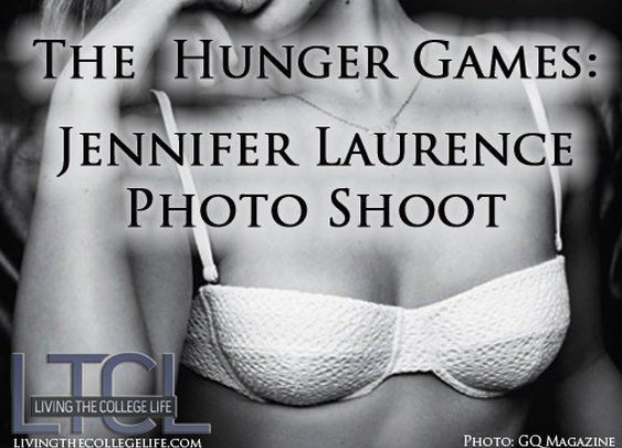 Jennifer Laurence from Hunger Games- Sexy Shoot [Video] - Living the College Life