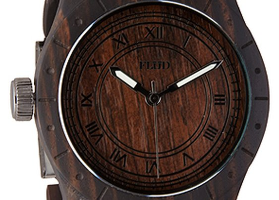 The Big Ben Watch in Oak : Flud Watches : Karmaloop.com - Global Concrete Culture