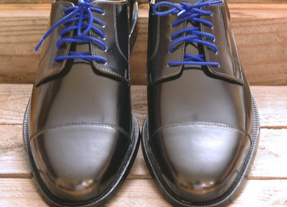 Colored Dress Shoelaces 2-pairs - Cobalt Blue