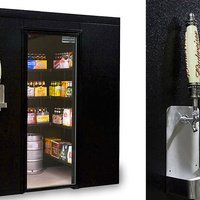 Walk-In Beer Cooler Is the Only Dorm Room You'll Ever Need