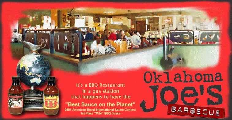 Oklahoma Joe's BBQ In Kansas City