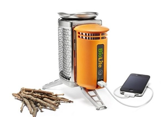Twig burning juice maker!