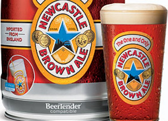 NEWCASTLE BROWN ALE (DRAUGHT KEG)