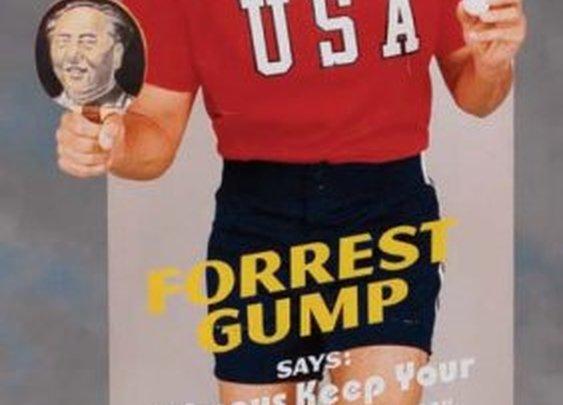 Forrest Gump Cutout