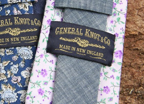 Vintage Ties and Men's Furnishings Handmade in the United States by General Knot & Co.