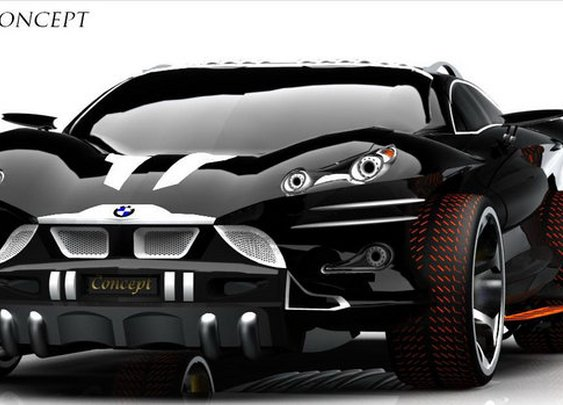 If Batman Drove a Bimmer... BMW Concept X9 Concept by Khalfi Oussama - Carscoop