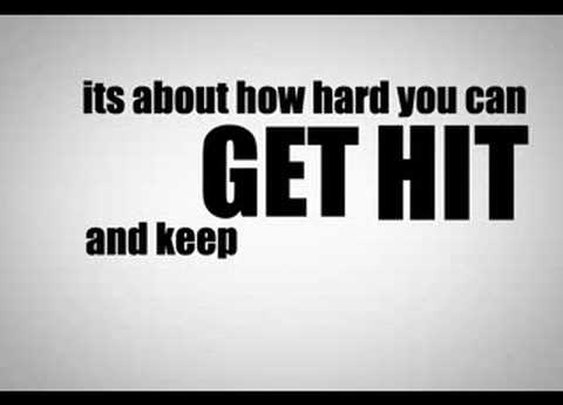 Rocky Balboa Motivational Speech - Kinetic Typography      - YouTube