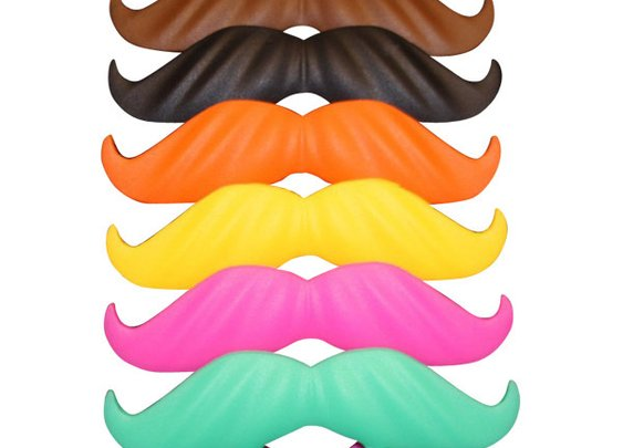 BeerMo Bottle Moustache - 6 Pack - Mixed