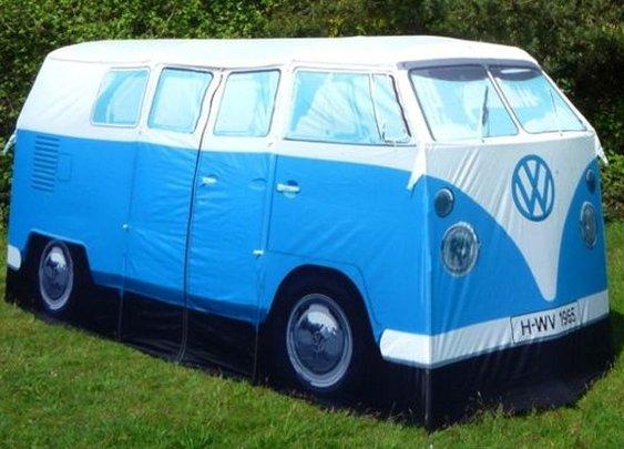 VW Camper Van Tent | GeekAlerts