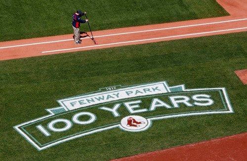 Happy 100th Birthday to Fenway Park...April 20. 2012.