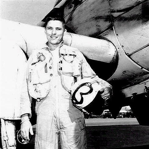 Lt. Jay E.Velie USMC circa 1955