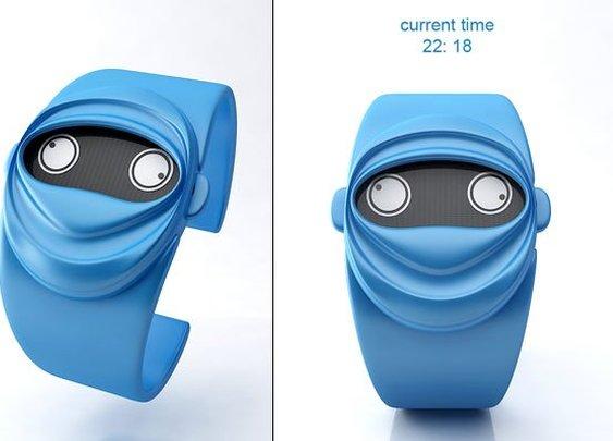 This Watch Goes Ninja