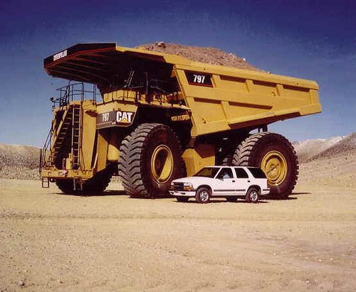 The True Monster Truck