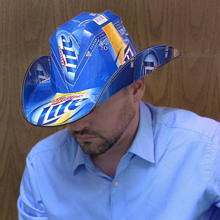 Beer Box Cowboy Hat