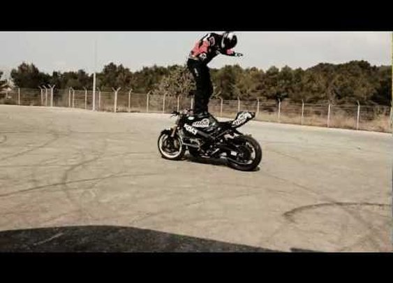 Restricted Area - Drifting Motorcycles Crossing - Switch Riders Gymkhana      - YouTube