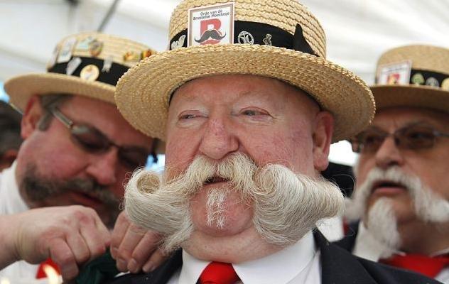 Who's got most beautiful moustache? - Xinhua | English.news.cn