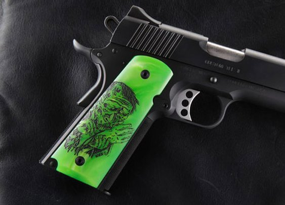 Hogue Grips new Zombie-X Line Coming Out [SHOT Show] | On Duty Gear Blog