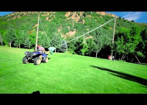 The Human Slingshot [Video]