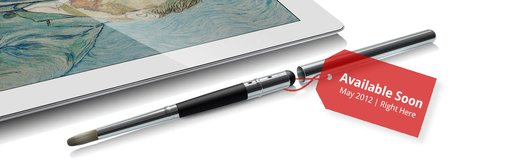 Sensu Artist Brush & Stylus for iPad and Touch Screen Devices