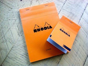 Write This Down - Rhodia Writing Pads Review | Modern Vintage Man