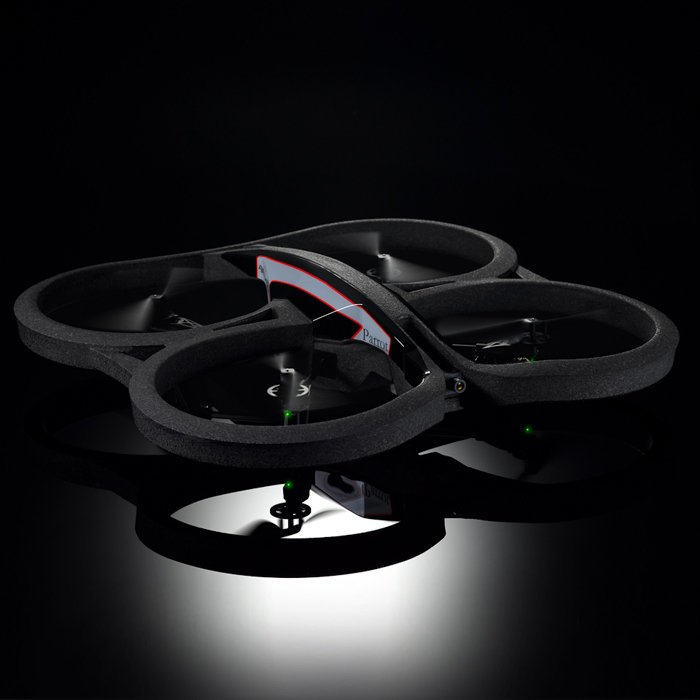 AR.Drone 2.0 iPad, iPhone, Android RC Quadricopter from Parrot