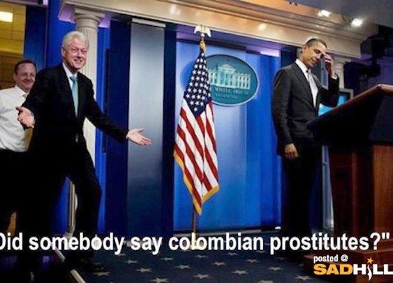Bill Clinton Upstages Barack Obama | Sad Hill News