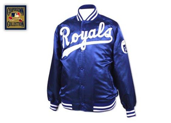 Kansas City Royals 1977 Authentic Satin Jacket - Mitchell & Ness Nostalgia Co.