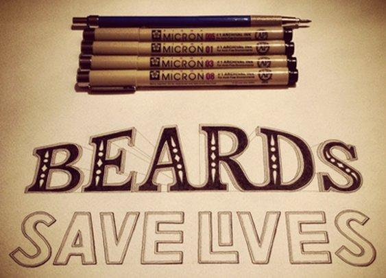 Beards Save Lives by Sean McCabe