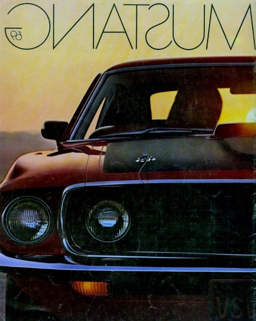 Ford Mustang Brochure, 1969