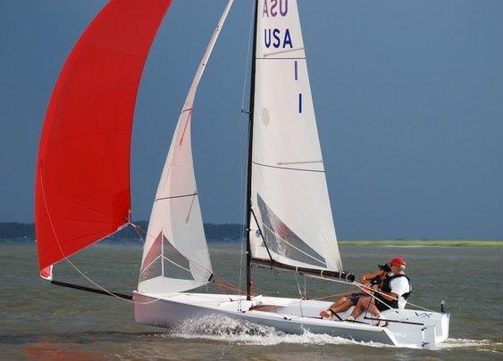 VX One sailing