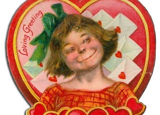 Vintage Valentine WTF