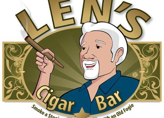 Steven Gordon | Graphic Design|  Len's Cigar Bar