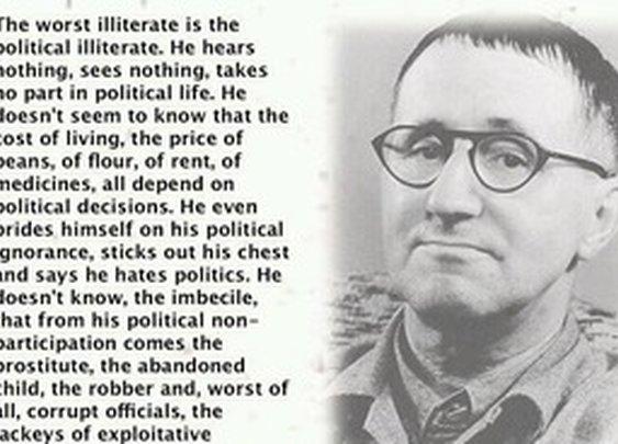 Politically illiterate?