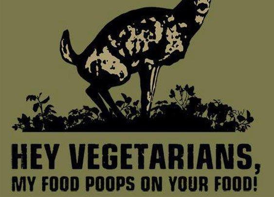 Deer and vegetarians...