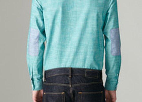Cotton Eyelet Shirt