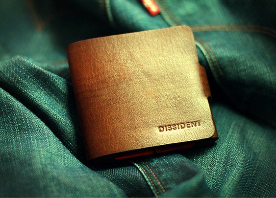 Minimalist wallet by Dissident