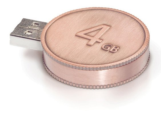 CurrenKey 4GB USB 2.0 Flash Drive