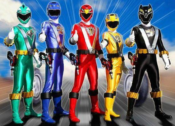 Where the Power Rangers really get their power!