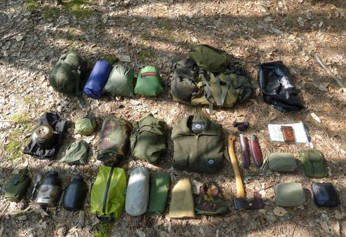 A Bushcraft Camping Outfit - Equipment for Living in the Woods