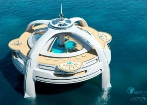Luxury Island Yacht
