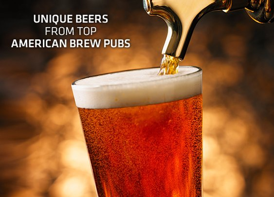 Unique Beers From Top American Brew Pubs