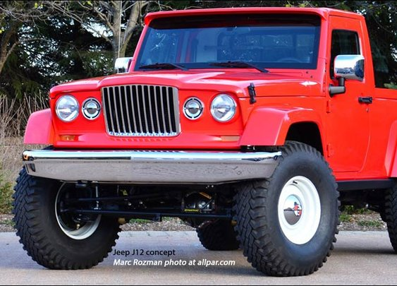 2012 Jeep J12 - yes please