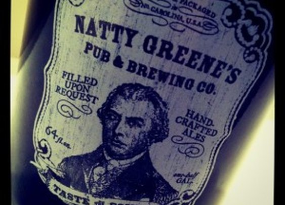 Natty Greene's Buckshot Amber Ale by the Lake | The Trot Line