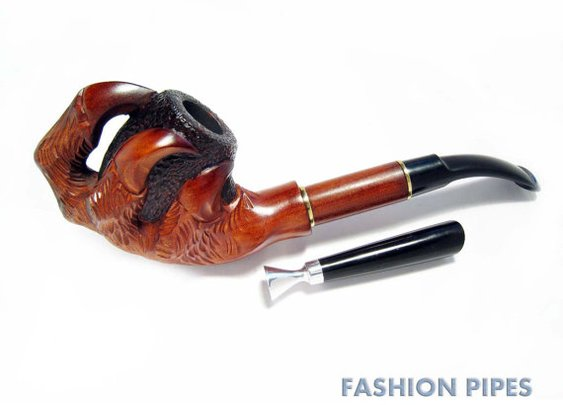 Lux Smoking Pipe Wood Pipe Tobacco Pipe / Pipes by FashionPipes
