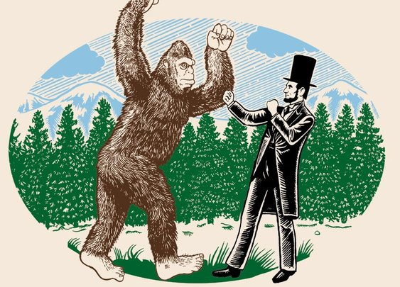 Abe Lincoln vs Bigfoot: Who would win?