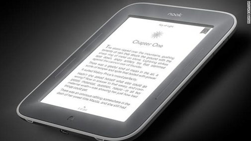 Review: Barnes & Noble's new glowing Nook is a winner - CNN.com