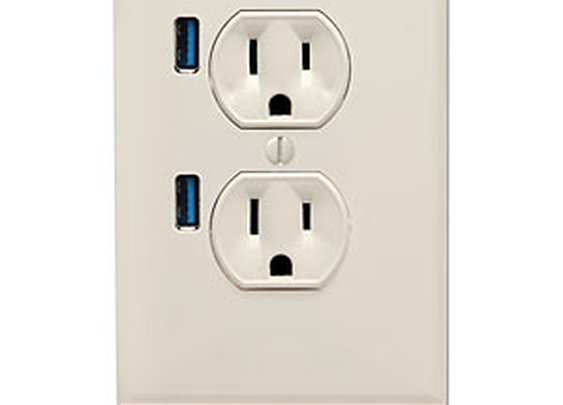 ThinkGeek :: U-Socket USB Wallplug