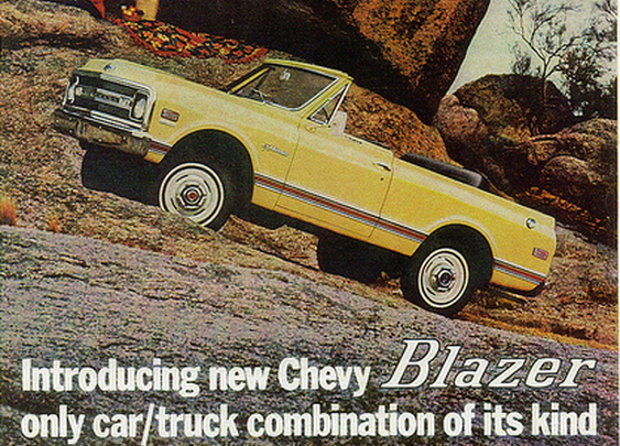 1969 Chevrolet Blazer Vintage Ad | Curbside Classic